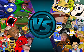 Meme All - mlg youtube poop meme free for all cartoon fight club animation