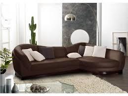 canapé d angle marron chocolat canapé d angle cuir de buffle 5 places ii chocolat angle