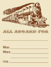free printable u0026 customizable train ticket invitation perfect