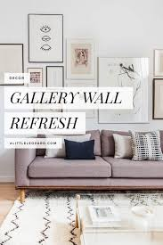 how to do a gallery wall bedroom gallery wall refresh wall art wish list a little leopard