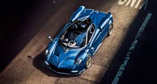 Feel The God Of Wind In Your Hair With The 754bhp Pagani Huayra
