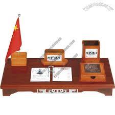 Desk Calendar With Stand Office Desktop Set With Pen Holder Flag Stand Desk Calendar