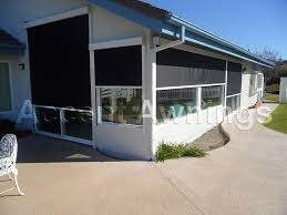 System Awnings Sun Pro Drop Shade System