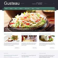 themes wordpress restaurant free gusteau wordpress restaurant theme