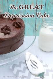 how to make the great depression cake called crazy cake recipe