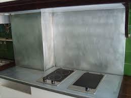 plan de travail cuisine en zinc plan de travail en zinc pour cuisine sur mesure entretien plan