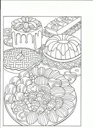 food coloring pages for adults coloring page