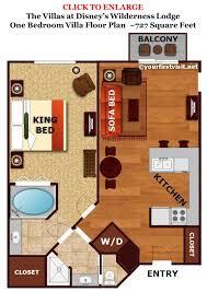 old key west 1 bedroom villa floor plan tour of disneys one