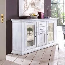 sideboard für esszimmer esszimmer sideboard alberton in weiß shabby chic möbel