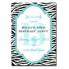 13th birthday party invitations marialonghi com