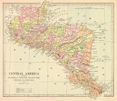 San Felipe Mexico Map by Maps Antique Country Guatemala