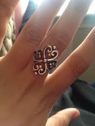 avery adorned hearts ring avery ring 3 rings avery rings