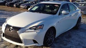 lexus 2014 is 250 2014 lexus is 250 awd premium f sport package in ultra white youtube