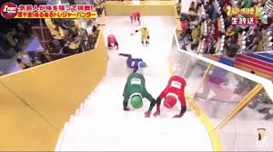 the japanese game show u0027slippery stairs u0027 is hilarious but diabolical