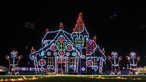 mcadenville christmas lights 2017 sparkle shine holiday lights displays near you second house on