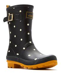 womens boots zulily look at this black polka dot mollywelly boot on