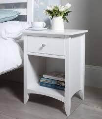 White Bedside Table Modern White Nightstands Bedside Tables Bdefadf Tikspor