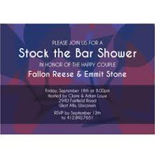 stock the bar shower stock the bar shower invitations