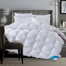 100 Percent Goose Down Comforter Amazoncom Queen Size Down Comforter 100 Percent Cotton 500 Tc