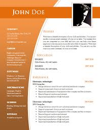 Resume Word Template Free Resume Templates Doc Cv Templates For Word Doc 632 638
