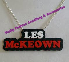 acrylic name necklace funky fashion jewellery accessories