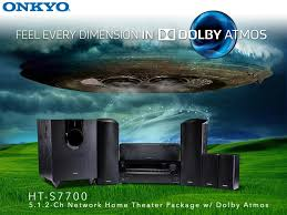 home theater 5 1 amazon com onkyo ht s7700 5 1 2 ch dolby atmos ready network a v