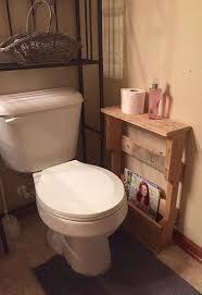 Magazine Rack Bathroom by Rustic Wood Pallet Furniture Outdoor Furniture Bathroom Shelf