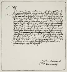 tudor writing paper thomas cromwell the truth about his personality 500 years after talented upstart