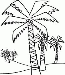 chicka chicka boom boom coloring page palm tree coloring pages to print coloring home
