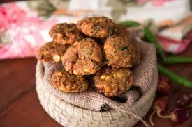 vazhaipoo vadai recipe banana flower fried savoury snack by