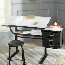 Drafting Table Set Safavieh Harvard Drafting Table And Chair Set U0026 Reviews Wayfair
