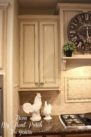 French Country Kitchen Furniture by Creating A French Country Kitchen Cabinet Finish Using Chalk Paint