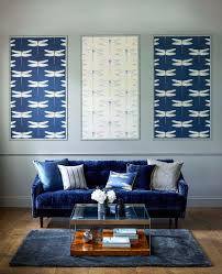 amara com wallpaper harlequin dragonfly blue wall decor