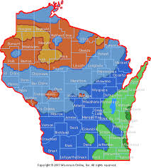 Wisconsin vegetaion images Gardening in wisconsin usda plant hardiness zones gif