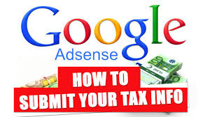 submit how to submit your tax information in google adsense for non us