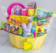 peeps basket easy easter bark peeps giveaway