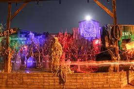 light o rama halloween sequences night terrors creeps freaks and caskets lure locals to halloween