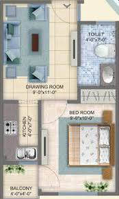 350 Sq Feet 350 Sq Ft 1 Bhk 1t Apartment For Sale In Arsh Group Eco Homes