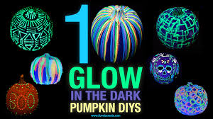 Glow In The Dark Halloween Shirts by 10 Glow In The Dark Pumpkin Diys Ilovetocreate