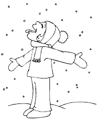 snow angel coloring page printable get coloring pages