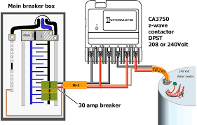 how to wire intermatic ca3750 use push on connectors join wires as
