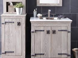 bathroom weathered wood bathroom vanity 33 reclaimed wood