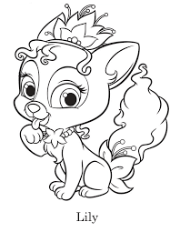 princess palace pets coloring pages palace pets coloring pages the sun flower pages