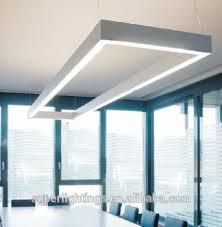 eclairage de bureau profilé en aluminium suspendu led éaire système d éclairage