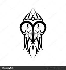 aries zodiac abstract tribal tattoo design u2014 stock vector