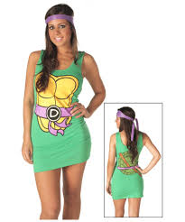 raphael halloween costume womens tmnt donatello tank dress
