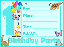 ideas kid birthday invitation card template 97 for your invitation