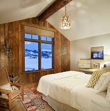 25 awesome bedrooms with reclaimed wood walls spacious and serene rustic bedroom with reclaimed wood accent wall that frames the view outside