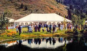 party tent rentals party tent rentals sun valley id