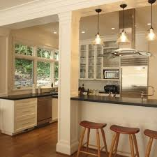 Ideas For Remodeling A Kitchen Open Up Load Bearing Wall Remodeling Pinterest Beams Range